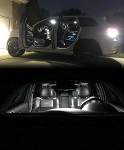 Complete Interior LED Kit for the All Jeep models including SRT, overland, Laredo, limited