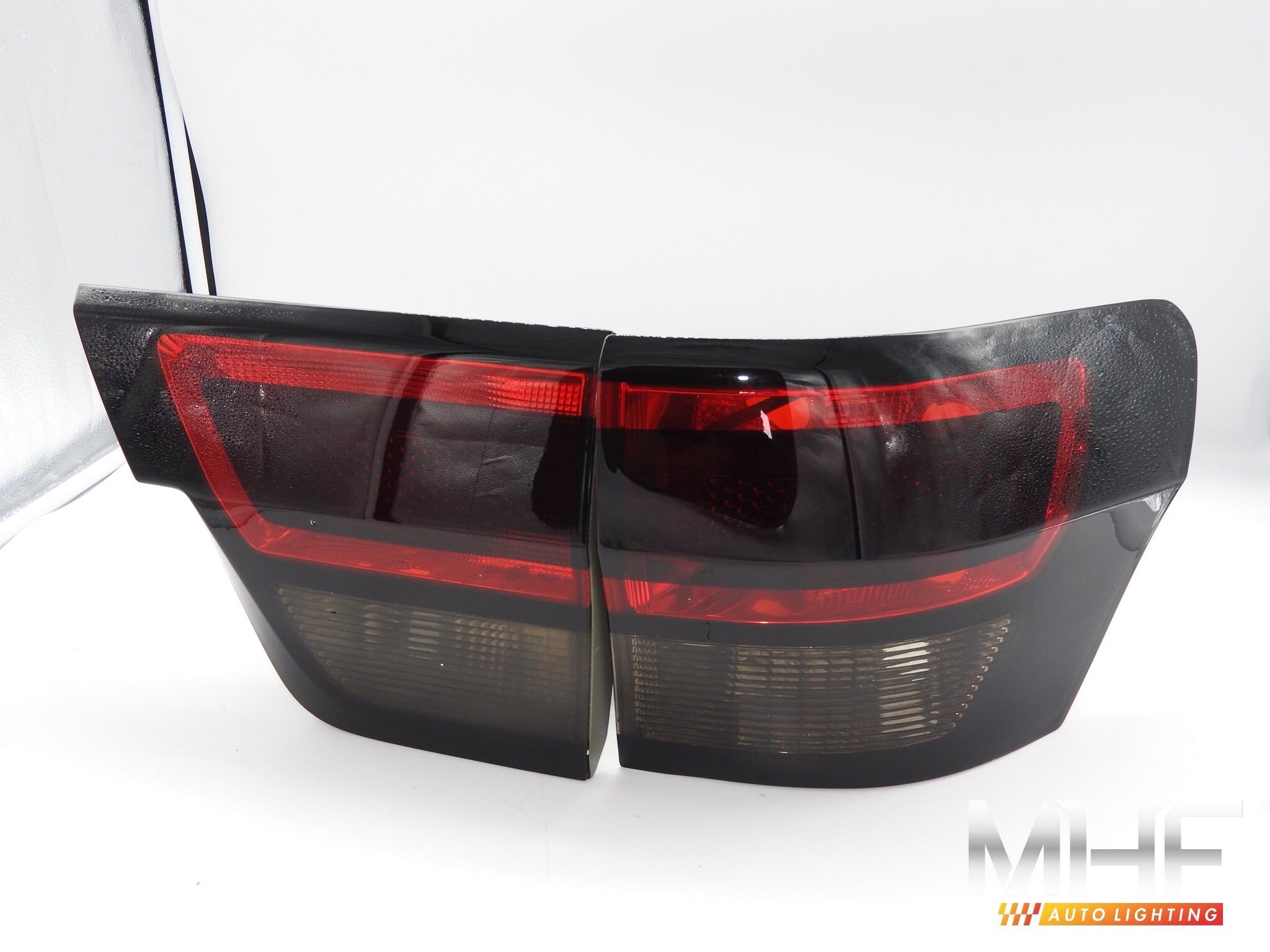 Painted Gloss Black Design Tail Lights for 2011-2013 Grand Cherokee WK2