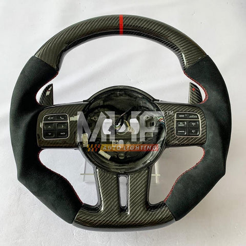 2011-13 Jeep/ Dodge Carbon Steering Wheel