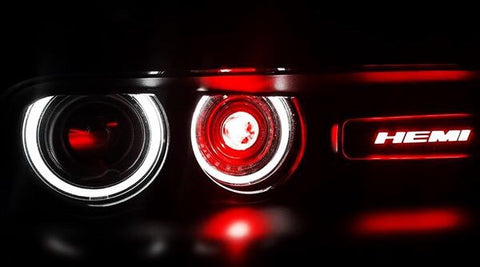 Hemi illuminated Badge