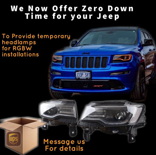 2014-2021 Jeep Grand Cherokee DRL Boards