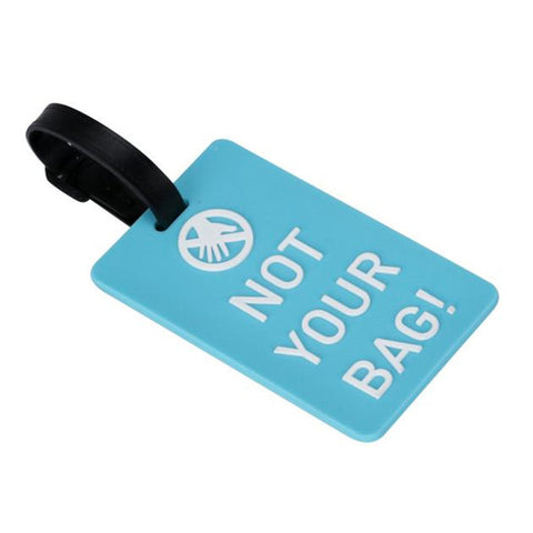 """Not Your Bag"" Luggage ID Tags"
