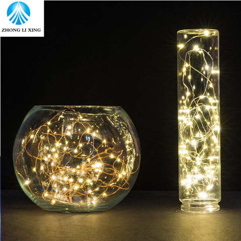 Fantasy Copper Wire LED Lights