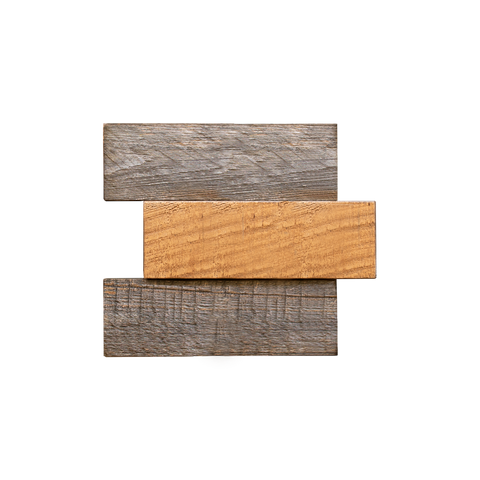 Bond Buckskin Mosaic Wood Wall Tiles