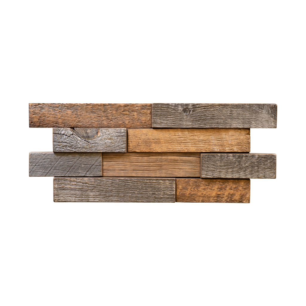 Buckskin Brick Tile Reclaimed Wood