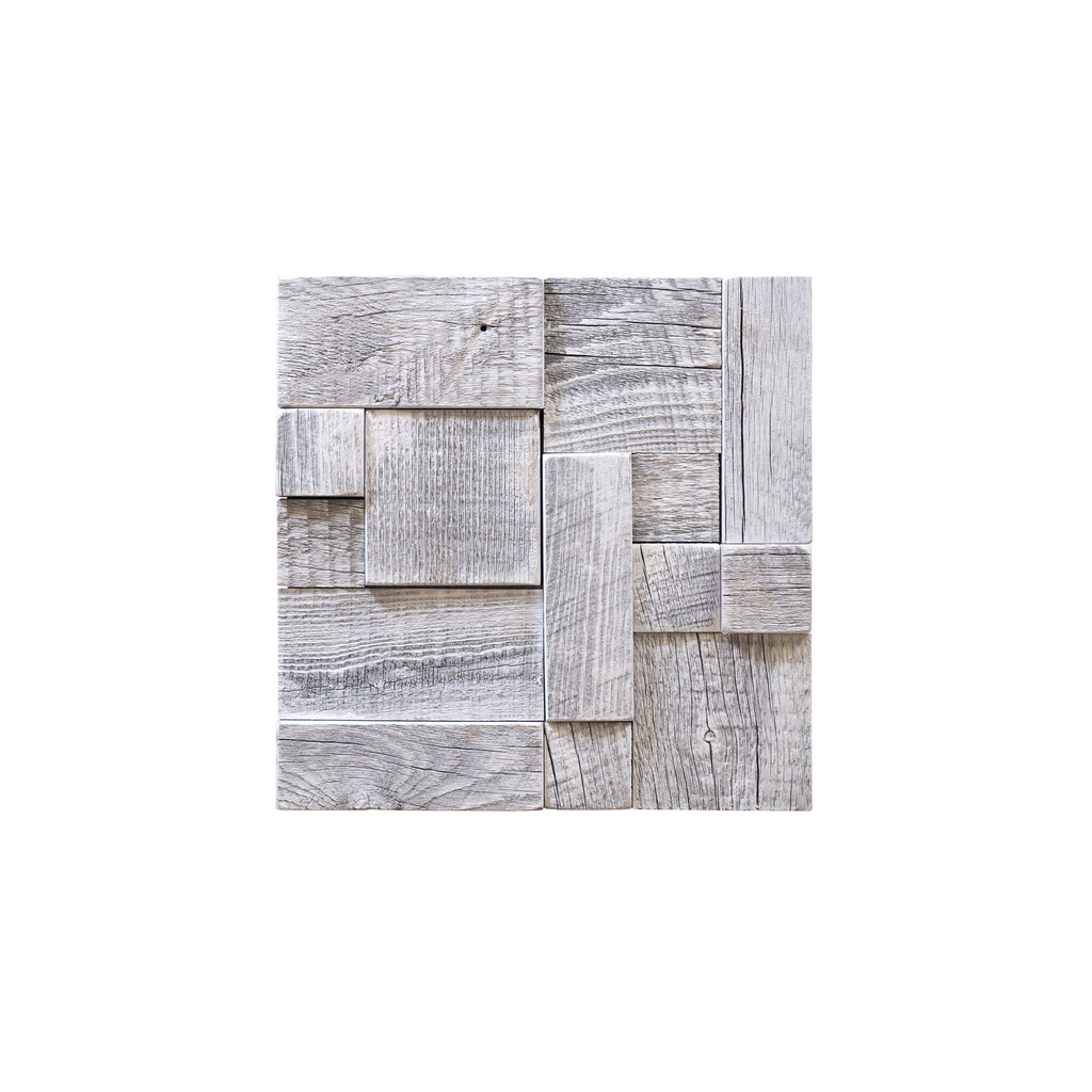 Glacier Ashlar Mosaic Wood Tile