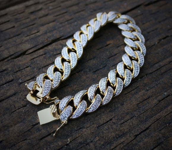 Iced Out Cuban Link Bracelet *NEW*