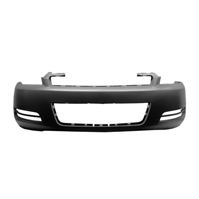2006-2013 CHEVROLET IMPALA FRONT BUMPER COVER WITHOUT FOG HOLES GM1000763