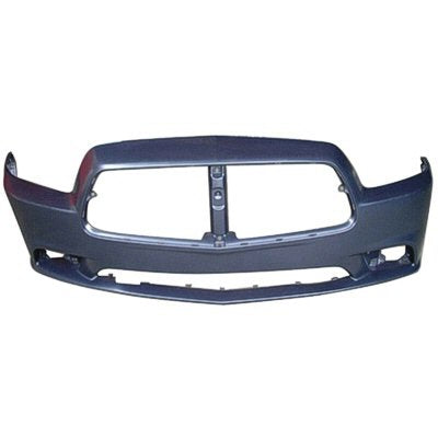 2011-2014 DODGE CHARGER WITHOUT SRT-8 MODEL FRONT BUMPER COVER WITHOUT ADAPTIVE CRUISE CONTROL  CH1000992