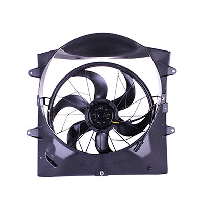 1999-2003 JEEP GRAND CHEROKEE RAD FAN ASSEMBLY WITHOUT TOWING PACKAGE