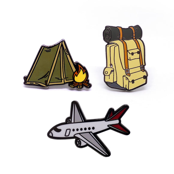 PIN PACK MOCHILERO #2
