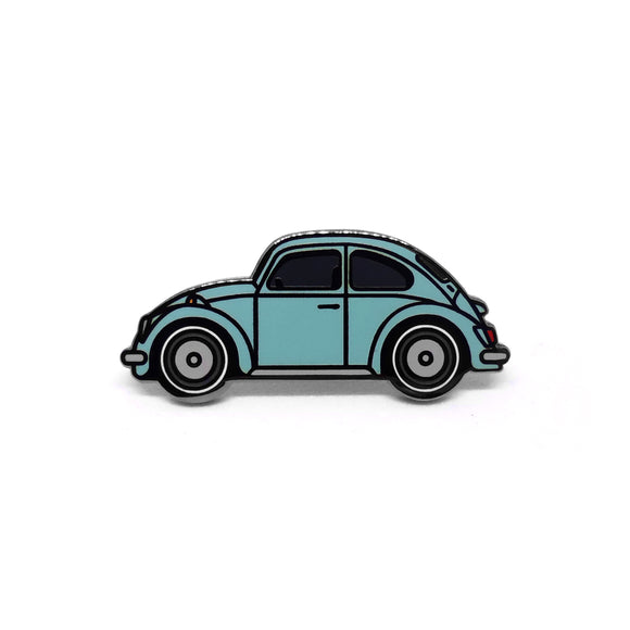 PIN VW ESCARABAJO CELESTE