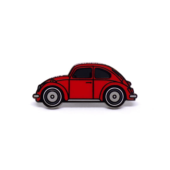 PIN VW ESCARABAJO ROJO