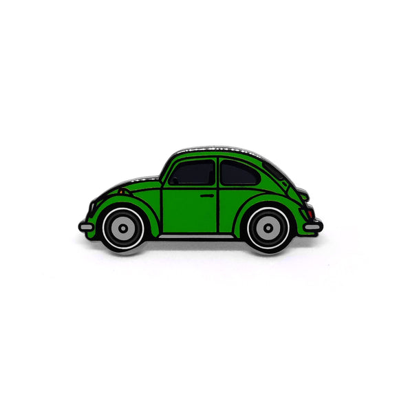 PIN VW ESCARABAJO VERDE