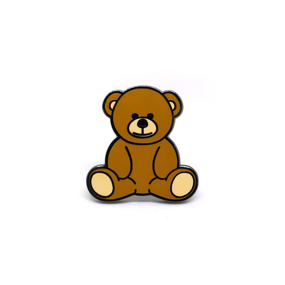 PIN OSO DE PELUCHE MARRÓN