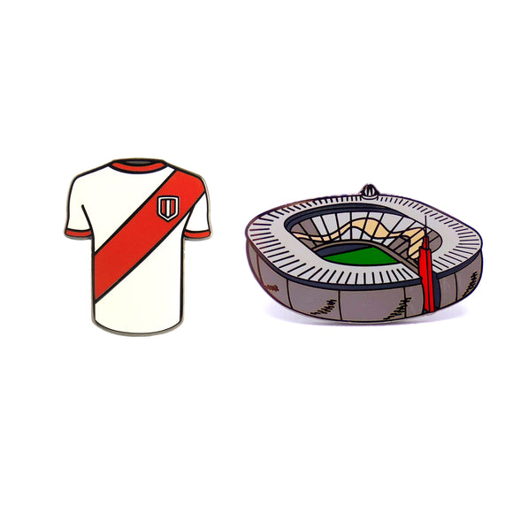PIN PACK BLANQUIRROJO