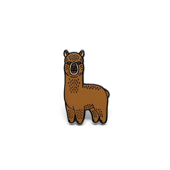 PIN ALPACA MARRÓN #1