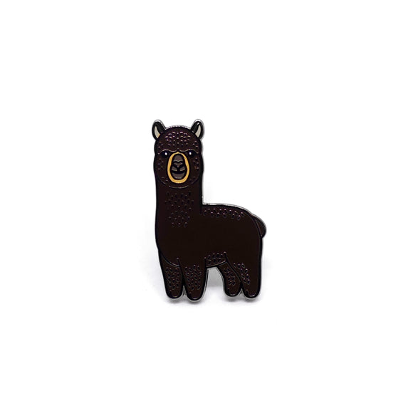 PIN ALPACA MARRÓN #2