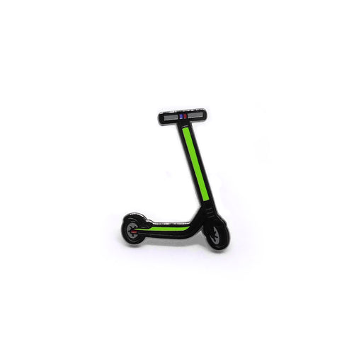 PIN SCOOTER VERDE