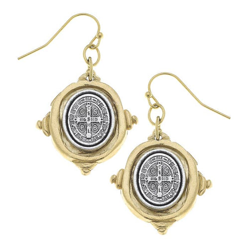 St Benedict Earrings 2009