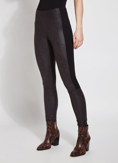 Trent Buffed Suede Legging