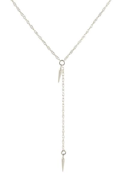 Kris Nations Spike Lariat Necklace 026