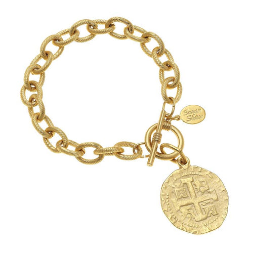 Ancient Coin Bracelet with Toggle 2016