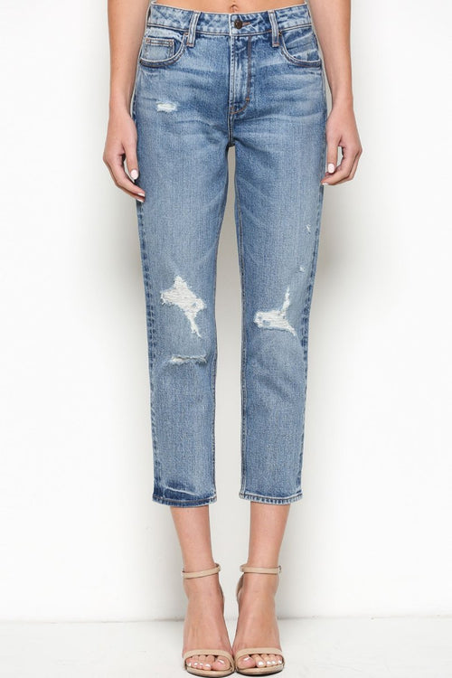 Zoey Mom Jeans Cut 481