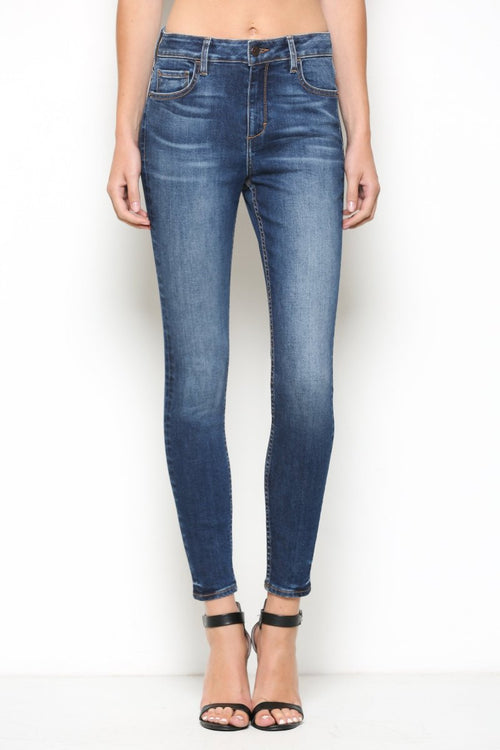 Taylor High-Rise Ankle Skinny/Clean Hem Cut 414