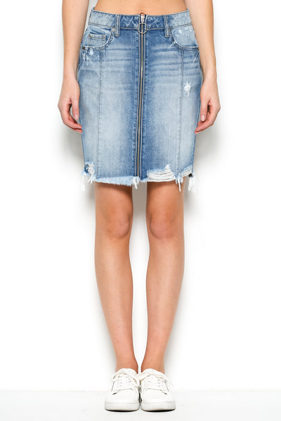 Zipper Skirt - Cut 322 - Final Sale