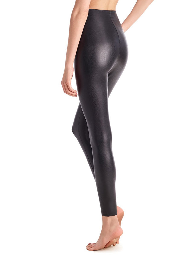 Faux Leather Legging w/ Perfect Control