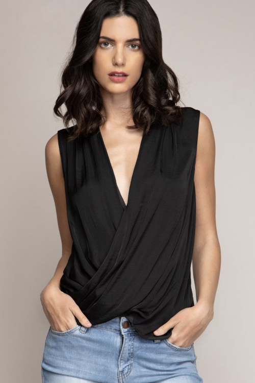 Alexis Wrap Blouse