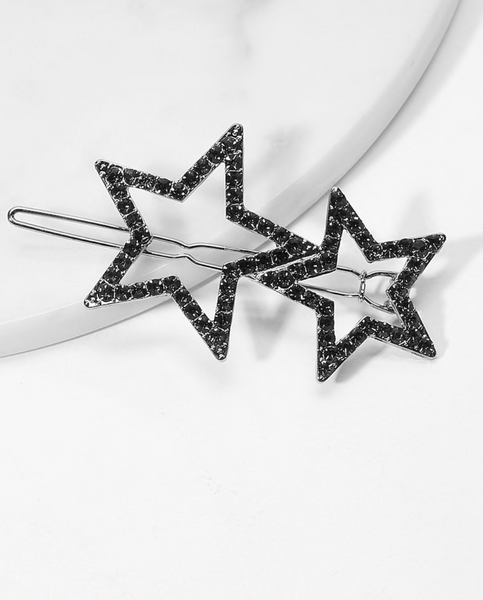 114 Star Barrettes Final Sale