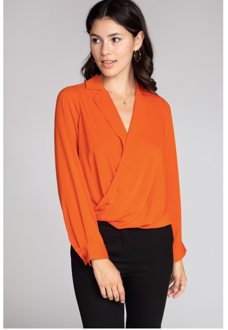 Alexis Wrap Blouse Final Sale