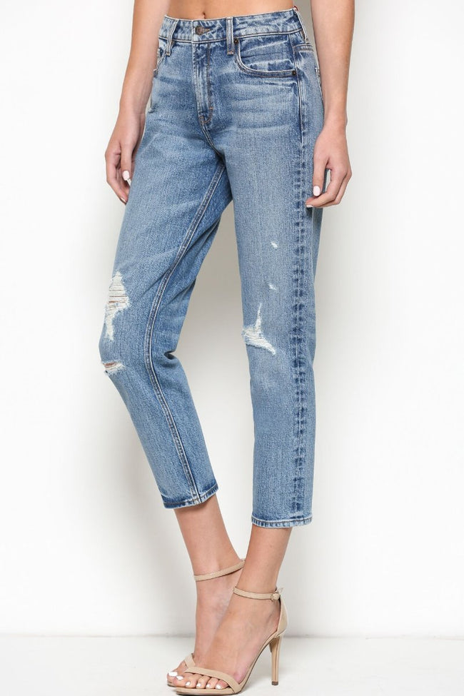 481 Zoey Mom Jeans Cut