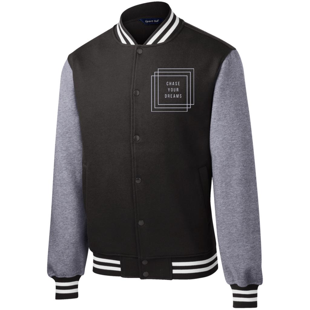 Chase Fleece Letterman Jacket