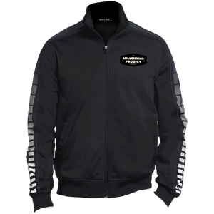 Millennial Prodigy Sport-Tek Dot Print Warm Up Jacket