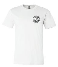 Clutch & Throttle round logo tee - white - Call For Available Sizes