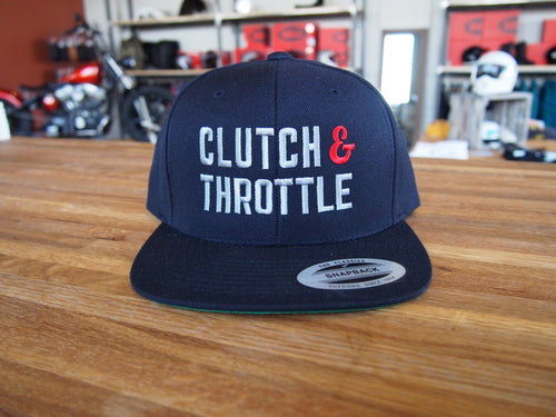 Clutch & Throttle Logo embroidered hat - Call For Availability