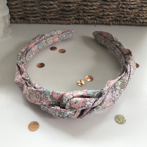 Michelle E Tana Lawn Liberty of London Twist Headband