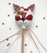 boho fox decoration wand