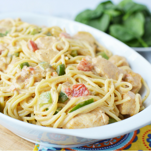 Weight Watcher Chicken Spaghetti