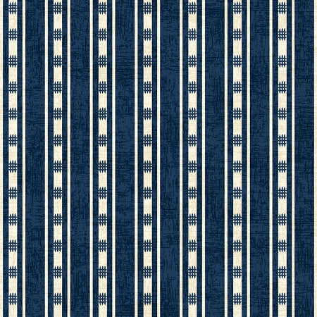 American Folk Blue Stripe 3213-77