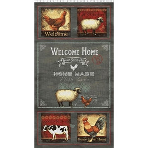 Good To Be Home Panel from Clothworks
