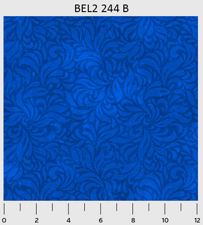 Bella Suede 2 Blue Leaves Blender from P & B 244B