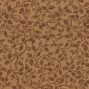 Benartex Autumn Scroll Brown 08321-77