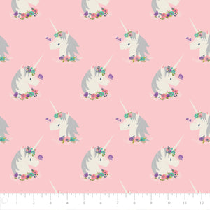 I Believe in UNICORNS from Camelot Fabrics