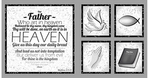 "Our Father 24""x45"" Panel 1649-24224K"