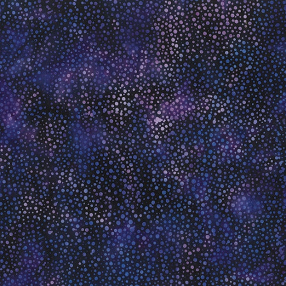 Bali Vegas Purple Dot Batik Fabric 885-358 from Hoffman by the yard