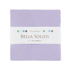 Bella Solids Lilac Charm Pack 9900PP-66 from Moda by the pack